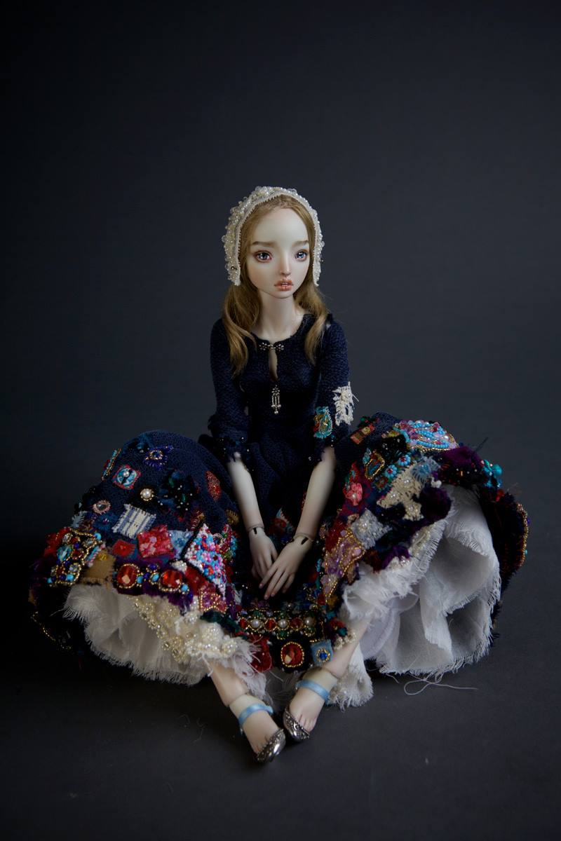 Enchanted Doll by Marina Bychkova